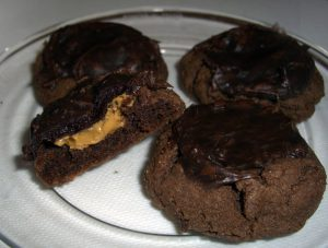 fudgy chocolate peanut butter